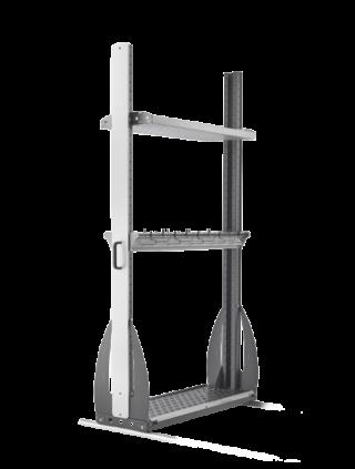 Universal ski rack 1